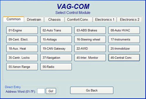 vagwerkes vagcom usb cable. Black Bedroom Furniture Sets. Home Design Ideas